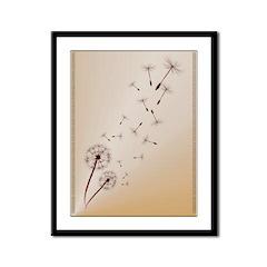 Dandelions Framed Panel Print