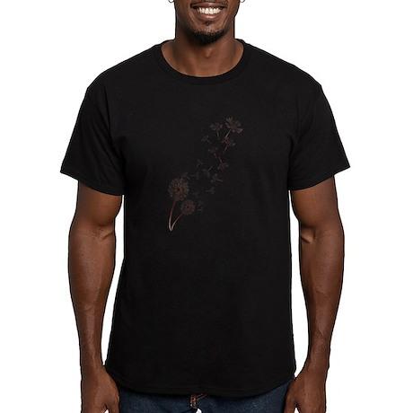 Dandelions Men's Fitted T-Shirt (dark)
