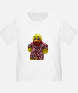 Duckie, the Float Like A Duck Mascot T