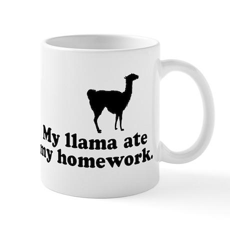 Funny Llama Mug