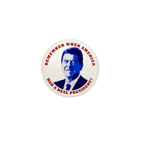 """""""Remember When..."""" Reagan Mini Button (10 pack)"""
