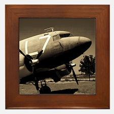C-47 Sepia Framed Tile