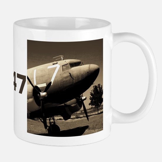 C-47 Sepia Mug