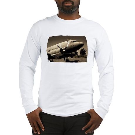 C-47 Sepia Long Sleeve T-Shirt