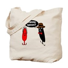 WANNA SPOON Tote Bag
