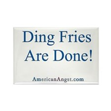 Ding Fries -AA- Rectangle Magnet