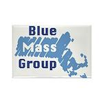Blue Mass. Group Rectangle Magnet