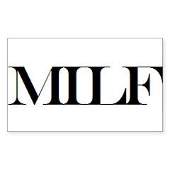 MILF Rectangle Sticker