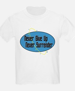 Never Surrender Kids T-Shirt