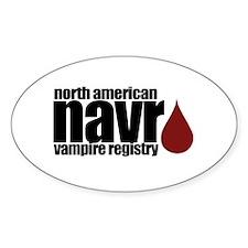 North American Vampire Registry Decal
