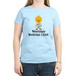 Veterinary Medicine Chick Women's Light T-Shirt