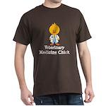 Veterinary Medicine Chick Dark T-Shirt