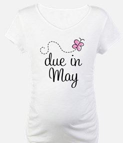 May Maternity Due Date Shirt