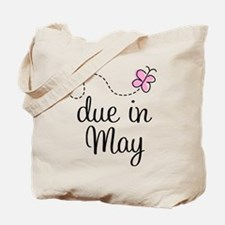 May Maternity Due Date Tote Bag
