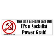 """It's Not Health Care"" Bumper Bumper Sticker"