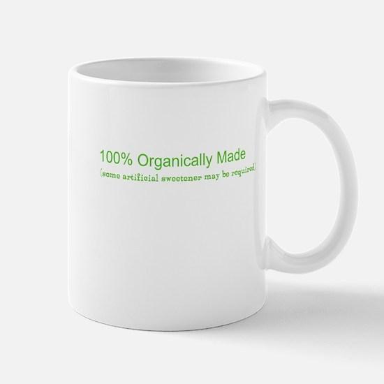 100% Organic Mug