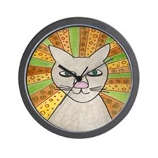Halo Cat Wall Clock