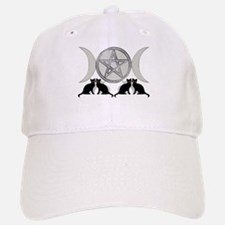 Silver Diamond Pentagram Cap