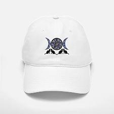 Mystic Blue Pentagram Baseball Baseball Cap