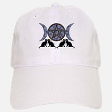 Mystic Blue Pentagram Cap