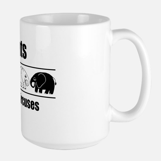 Elephants Don't Belong in Circuses Large Mug