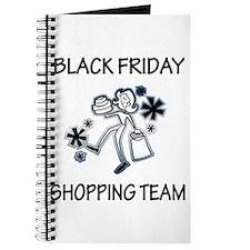 BLACK FRIDAY SHOPPING TEAM Journal