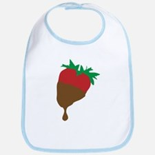 Strawberry and Chocolate Bib