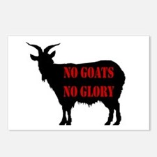 No Goats No Glory Postcards (Package of 8)