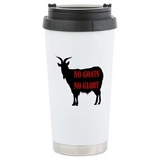 No Goats No Glory Travel Mug