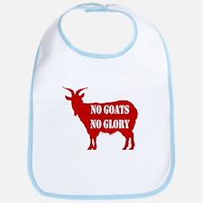 No Goats No Glory Bib