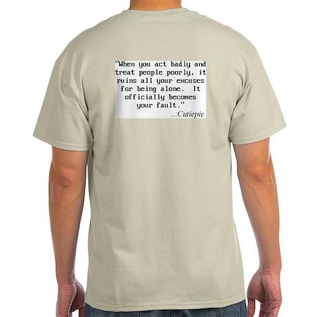 Cutiepie Grey T-Shirt