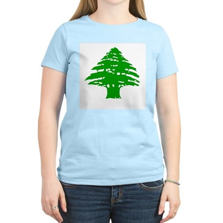Cedar Tree Women's Pink T-Shirt