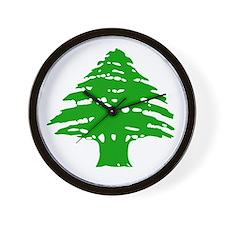Cedar Tree Wall Clock