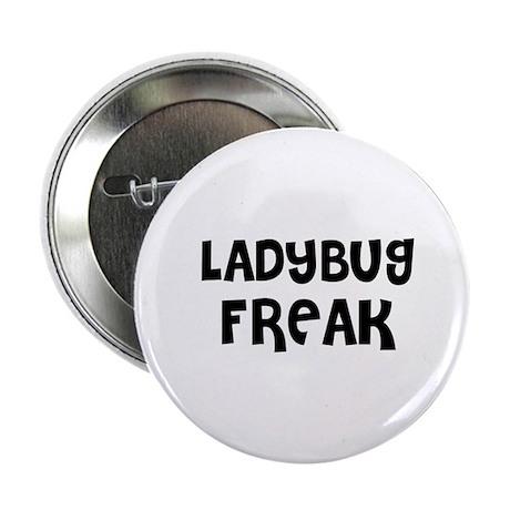 """LADYBUG FREAK 2.25"""" Button (10 pack)"""