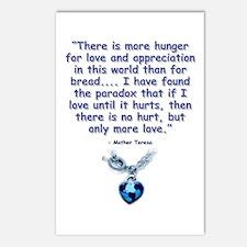 Mother Teresa Love Postcards (Package of 8)