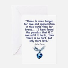 Mother Teresa Love Greeting Card