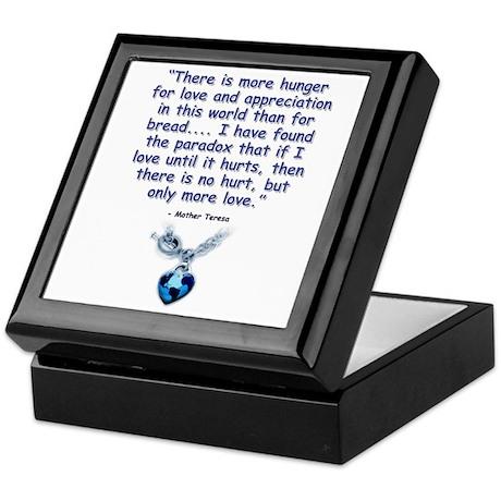 Mother Teresa Love Keepsake Box