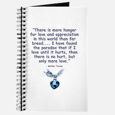 Mother Teresa Love Journal