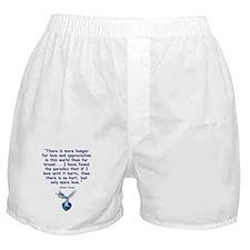 Mother Teresa Love Boxer Shorts