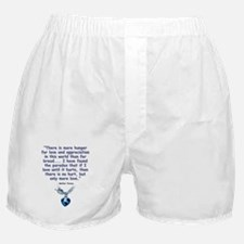 Mother Teresa Love Boxer Shorts