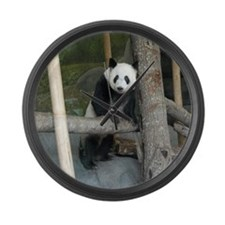 Giant Panda Bear Large Wall Clock
