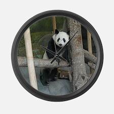 Giant Panda Bear Large Wall Clock
