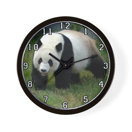 Giant Panda Bear Wall Clock
