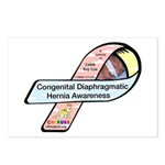 Caleb Ray Cox CDH Awareness Ribbon Postcards (Pack