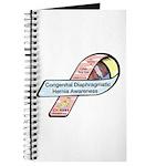 Caleb Ray Cox CDH Awareness Ribbon Journal