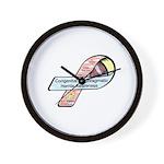 Caleb Ray Cox CDH Awareness Ribbon Wall Clock