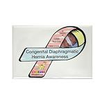 Caleb Ray Cox CDH Awareness Ribbon Rectangle Magne