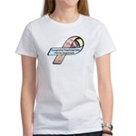 Caleb Ray Cox CDH Awareness Ribbon Women's T-Shirt