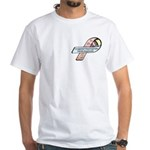 Caleb Ray Cox CDH Awareness Ribbon White T-Shirt