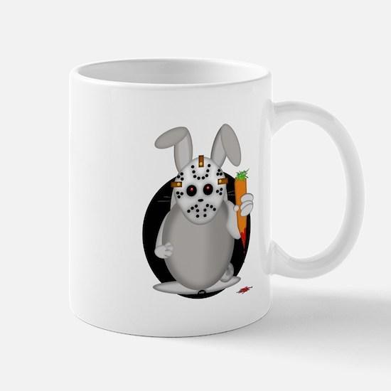 SERIAL RABBIT! Mugs